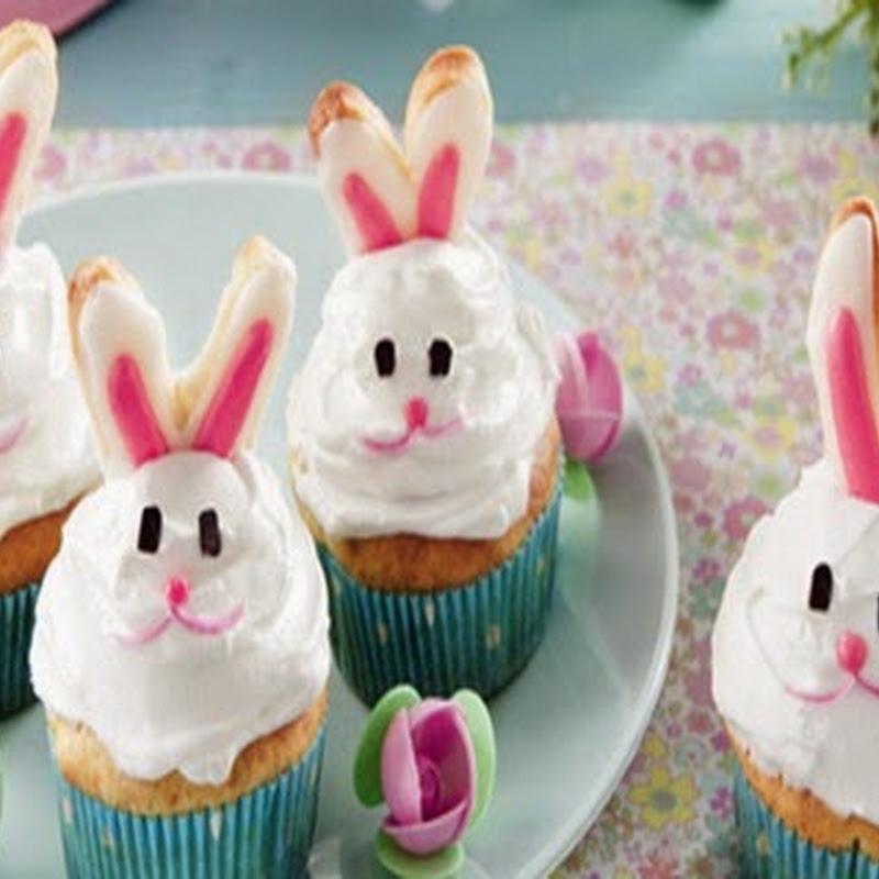 Cupcakes di Pasqua con crema al mascarpone.