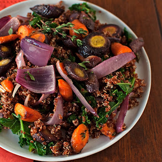Roasted Carrot & Quinoa Salad