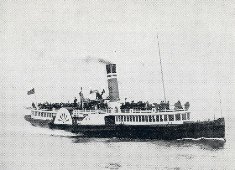 El P.S. CHANCELLOR. Foto del libro CLYDE RIVER AND OTHER STEAMERS.JPG
