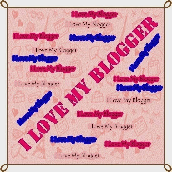 Tag_I Love My Blogger