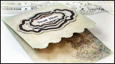 Our Daily Bread designs, Crocheted Background, Antique Label Designs, and Antique Labels and Border, Words of Faith