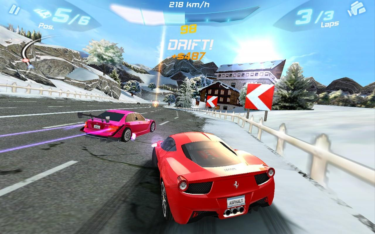Asphalt 6: Adrenaline - screenshot