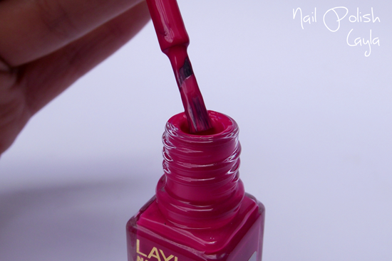Layla Nail Polish - detalhe do pincel