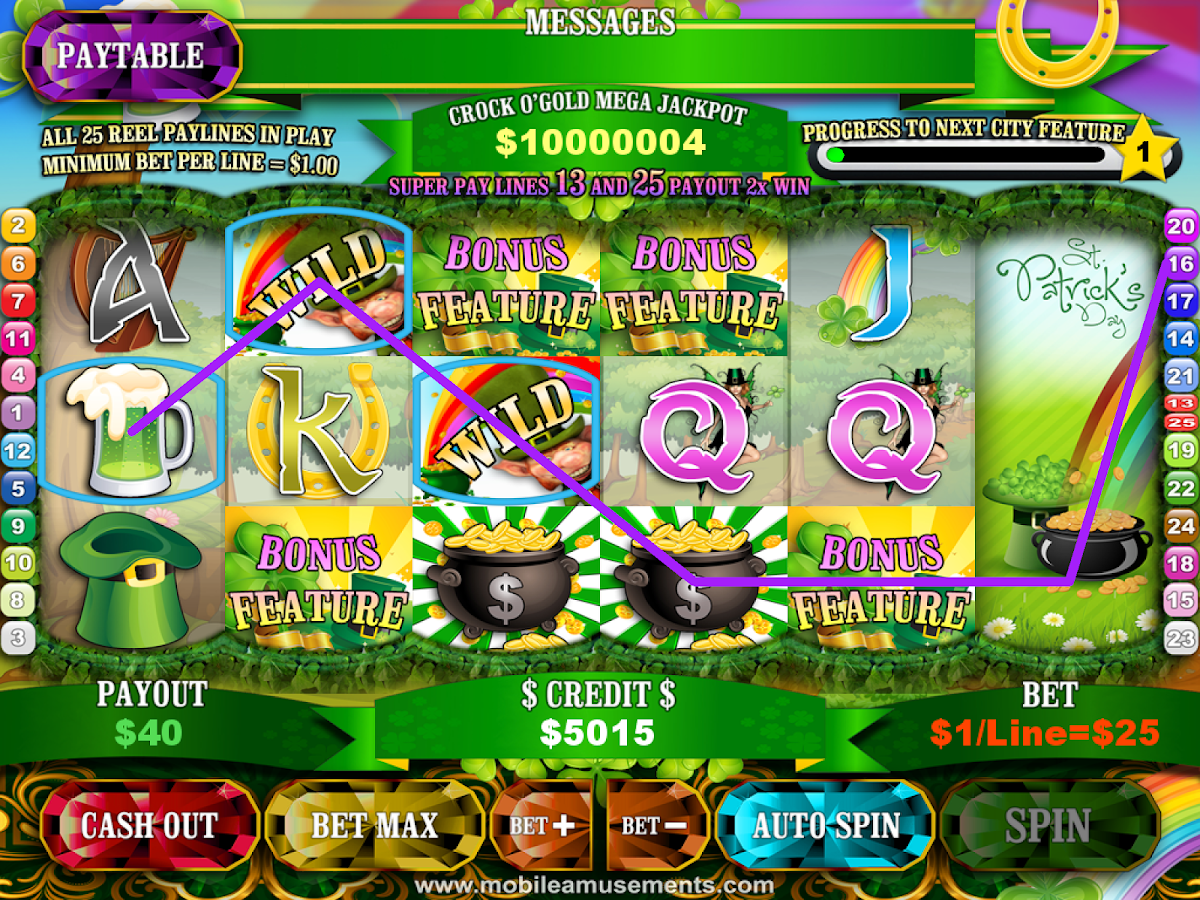 Crock O'Gold Slots FREE- screenshot