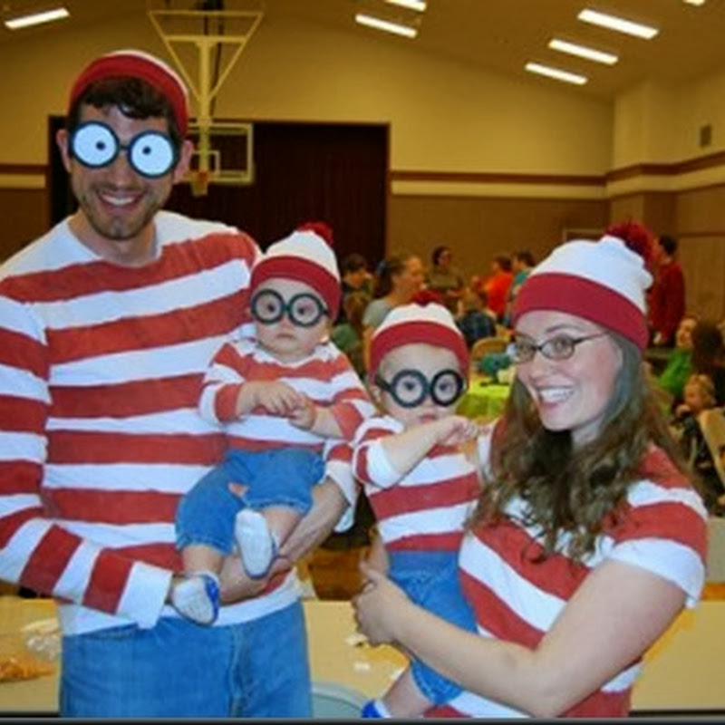 ideas disfraces fáciles para familias: Wally