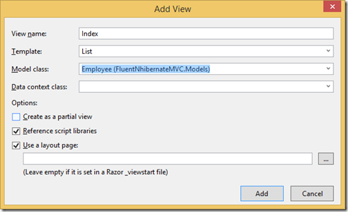 add-view-listing-fluent-nhibernate