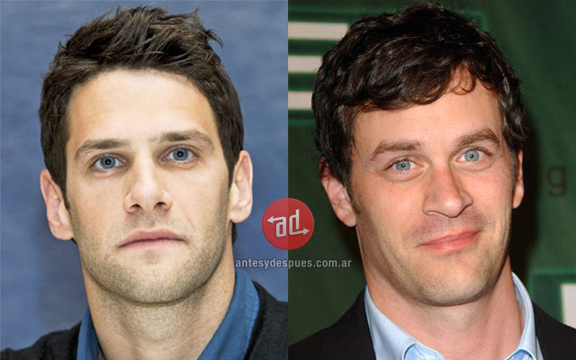 Celebrity Look-alikes: Justin Bartha Tom Everett Scott