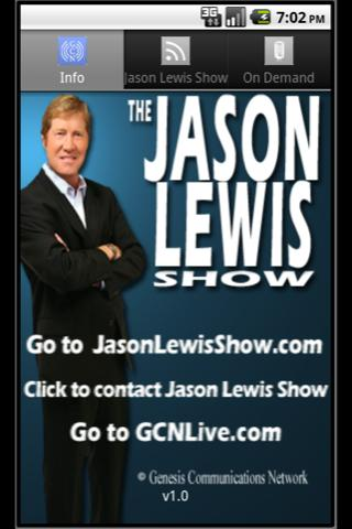 Jason Lewis Show - screenshot