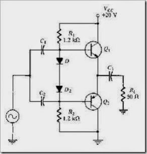 MCQs in Power Amplifiers Fig. 03