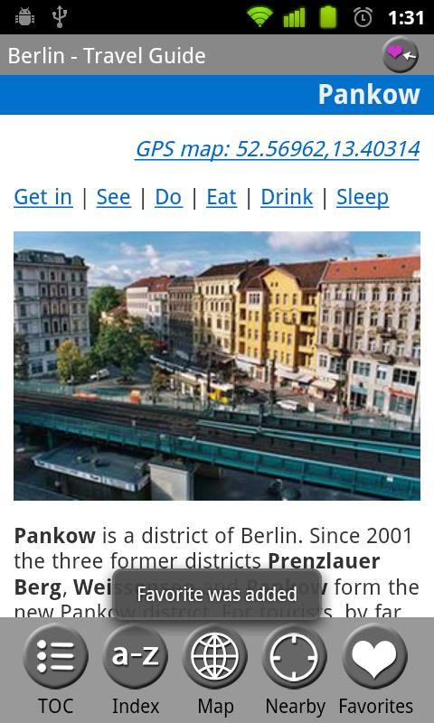 Berlin, Germany - Travel Guide- screenshot