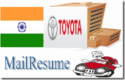 Toyota careers India