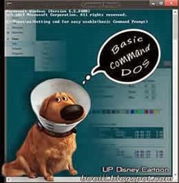 Basic Windows cmd Page 1.(UP cartoon)