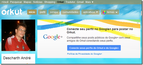 integrar G  no Orkut