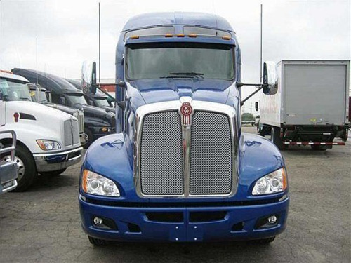 camiones Kenworth T660 blue