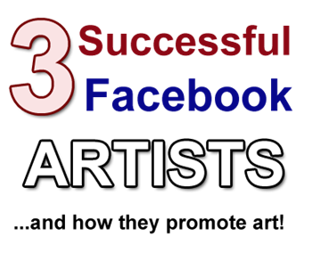 successful facebook artists promote