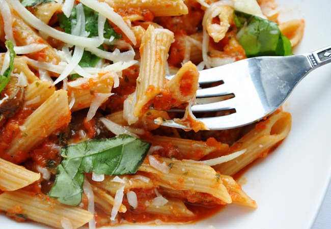 roasted pepper pasta 242