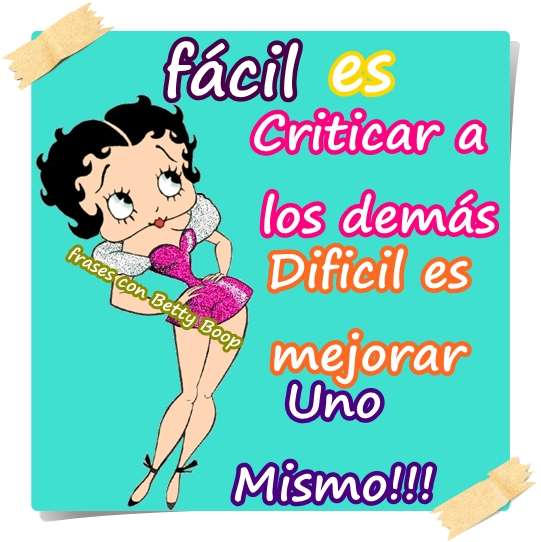 Frases Con Betty Boop Quotes Links