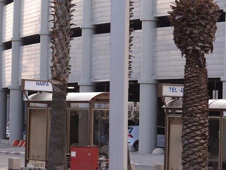 Statie autobuz - aeroport Israel