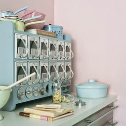 Pastel retro kitchen accessories | Lavender & Twill