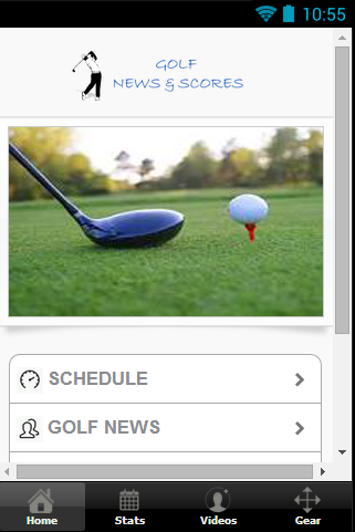 Golf Scores and News