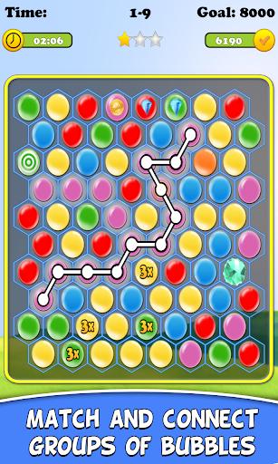 Connect Bubbles Quest