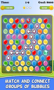 Connect Bubbles Quest - náhled