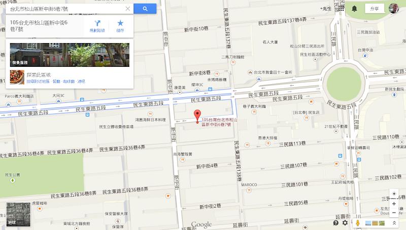 六丁目 Cafe 所在位置平面圖.png