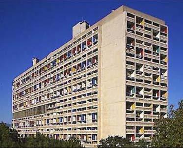 Unità abitazione Marsiglia Le Corbusier