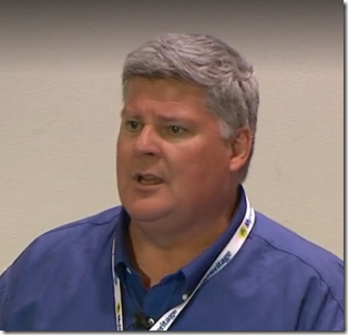 Ron Tanner. at RootsTech 2015
