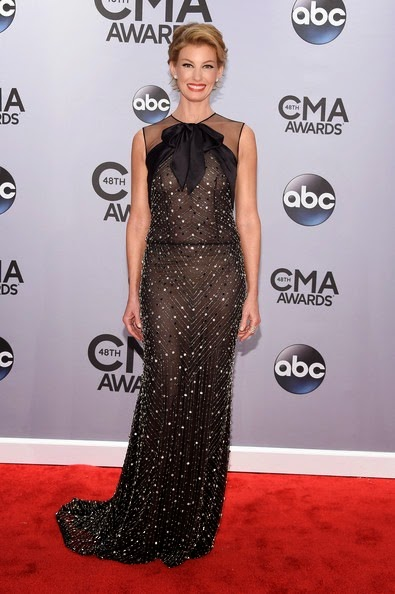 Faith Hill attends the 48th annual CMA Awards