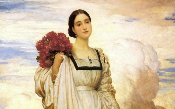 Frederic-Leighton-Wallpaper-The-Countess-Brownlow