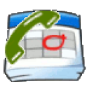 Calendar call logs logo