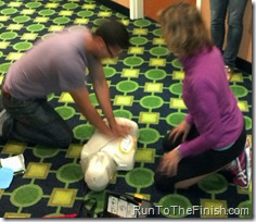 Perform CPR