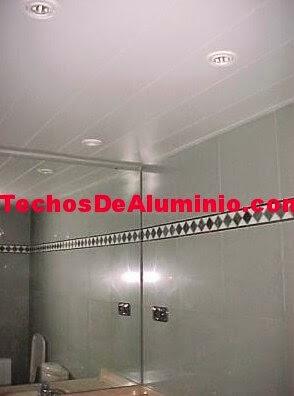 Techos aluminio Guareña