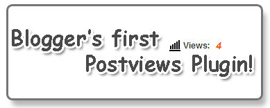 blogger postviews plugin