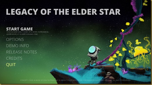 Legacy of the Elder Starタイトル