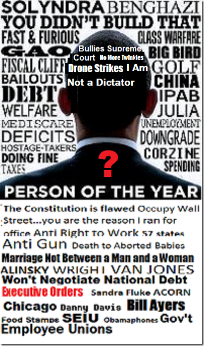 Person of the year dictator