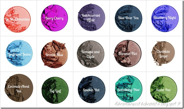 The Body Shop Colour Crush Eyeshadows