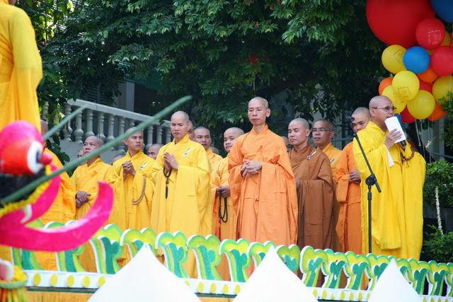 IMG 1742 Đại lễ Phật đản PL 2557 tại Tu viện Quảng Hương Già Lam