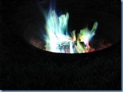 6562 Sleepy Cedars Campground Greely Ottawa - colourful campfire