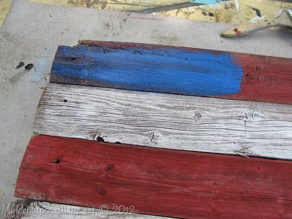Americana Flag (Repurposed Fence) (18)