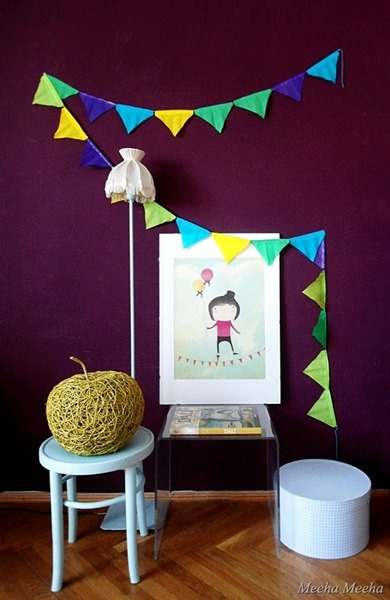 crepe paper banner 111