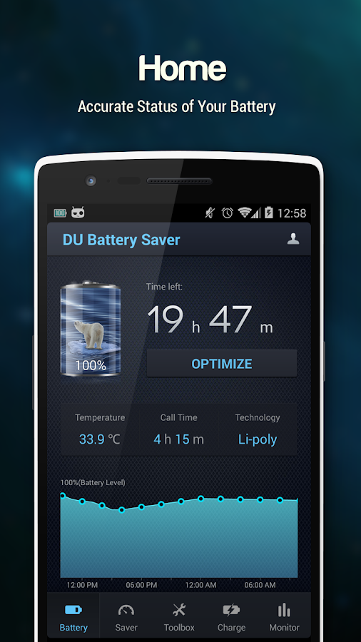 DU Battery Saver PRO & Widgets- screenshot