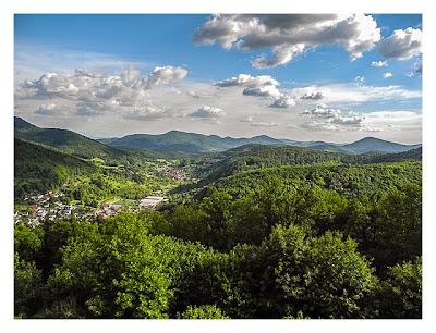 Ramberg und der Dahner Felsenpfad - Ausblicke