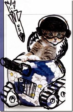 dibujando sobre el gato (2)