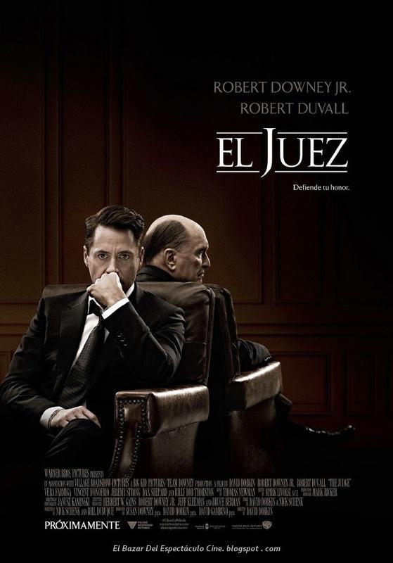 El juez poster latino fecha de estreno argentina afiche for Portales de chimentos del espectaculo