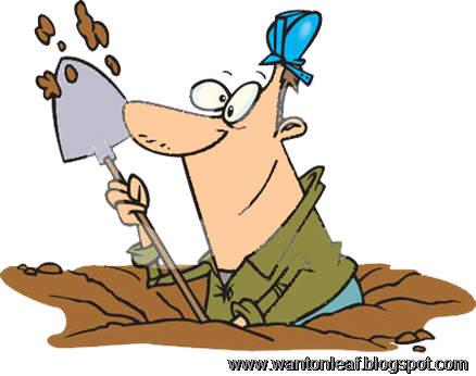 1047918-Royalty-Free-RF-Clip-Art-Illustration-Of-A-Cartoon-Construction-Worker-Digging