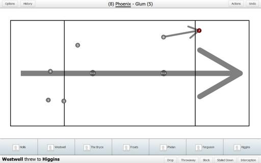 Ultiapps Frisbee Stat Tracker