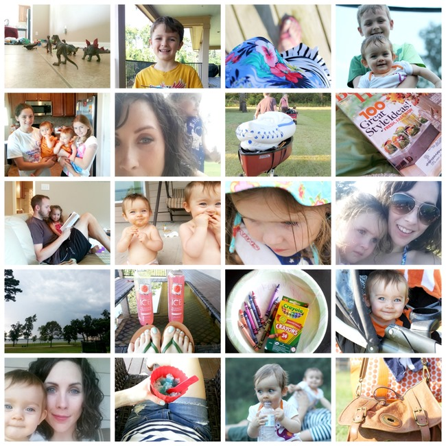 vacation collage