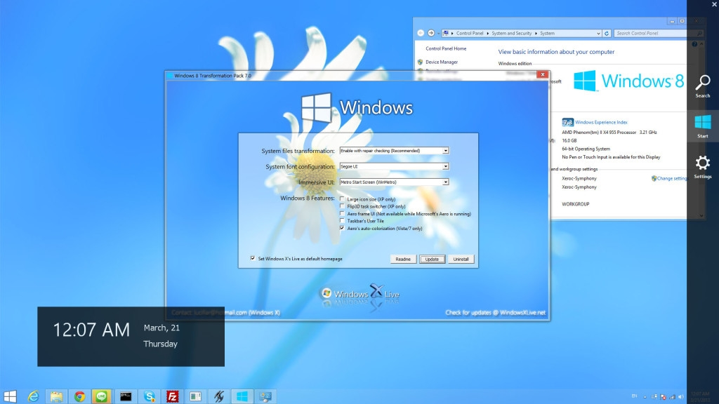Windows 8 Transformation Pack v8